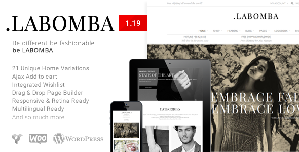 Themeforest | Labomba - Responsive Multipurpose WordPress Theme Free Download free download Themeforest | Labomba - Responsive Multipurpose WordPress Theme Free Download nulled Themeforest | Labomba - Responsive Multipurpose WordPress Theme Free Download