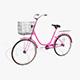 Ladies Bicycle - 3DOcean Item for Sale