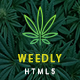 Medical Cannabis HTML5 Template | Weedly - ThemeForest Item for Sale