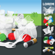 Environment Pollution Illustration Info Chart - GraphicRiver Item for Sale