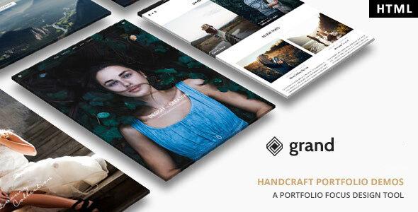Grand Portfolio - HTML Template