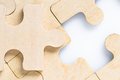 Missing jigsaw puzzle pieces on white_-11 - PhotoDune Item for Sale