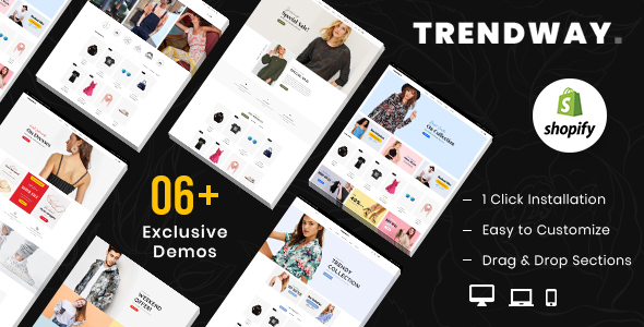 Trendway – Fashion Shopify MultiPurpose Responsive Theme