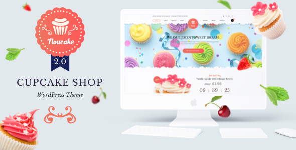 Noucake - Bakery WordPress Theme