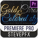 Gold Chrome Colored Steel Titles - VideoHive Item for Sale