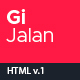 GiJalan - Tour and Travel Bootstrap 4 HTML Template - ThemeForest Item for Sale