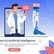 Technology Connect to Artificial Intelligence - GraphicRiver Item for Sale