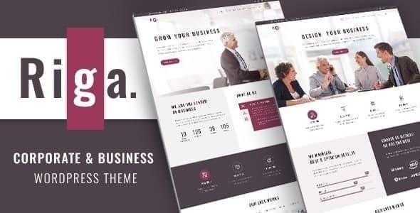 Riga | Business WordPress