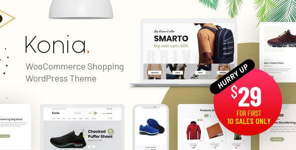 Konia - Responsive WooCommerce WordPress Theme