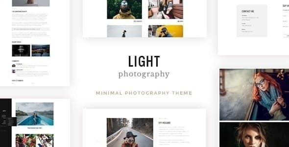 Light - Photography WordPress