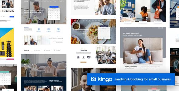 Kingo | Booking WordPress for Small Business