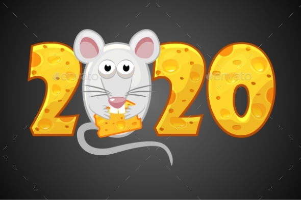 Happy New Year 2020 Year of the Rat