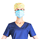 Rigged medical nurse 14, animated in 4 styles - 3DOcean Item for Sale