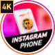 Instagram Follow Reminder With Phone - VideoHive Item for Sale