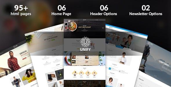 Unify – Multipurpose Joomla Template