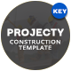Projecty Construction Keynote Template - GraphicRiver Item for Sale