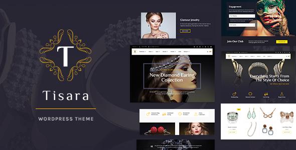 Tisara Jewelry WooCommerce Theme