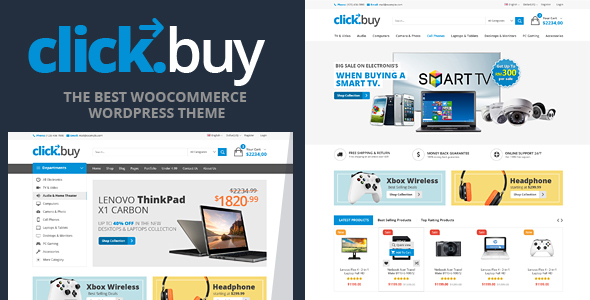 Clickbuy - WooCommerce Responsive Digital Theme