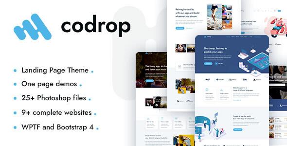 Codrop - App Landing Page Theme