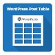 WordPress Post Table - CodeCanyon Item for Sale