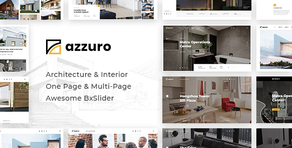 Azzuro - Interior Design & Architecture Template