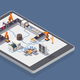 Smart Industry Isometric Composition - GraphicRiver Item for Sale