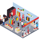 Clothes Shop Isometric Composition - GraphicRiver Item for Sale
