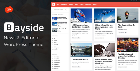 Bayside - Responsive WordPress Theme