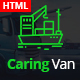 Caring Van-Logistics & Transport HTML5 Template - ThemeForest Item for Sale
