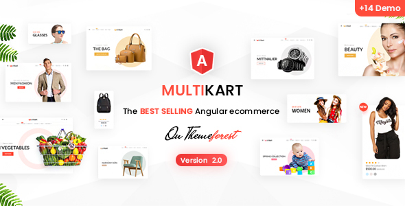 Multikart - Responsive Angular eCommerce Template