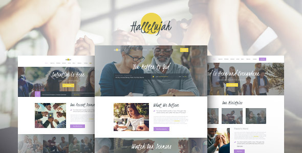 Hallelujah | Church & Religion WordPress Theme
