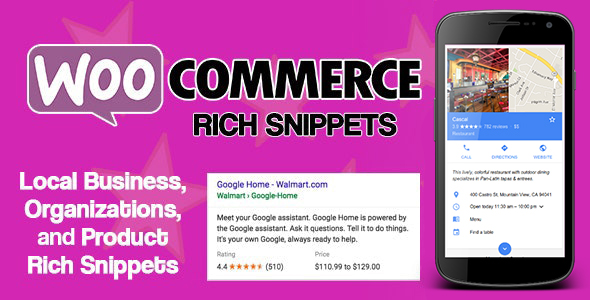 WooCommerce Rich Snippets - Local SEO & Business SEO Plugin