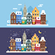 Europe Christmas City Winter Landscapes - GraphicRiver Item for Sale