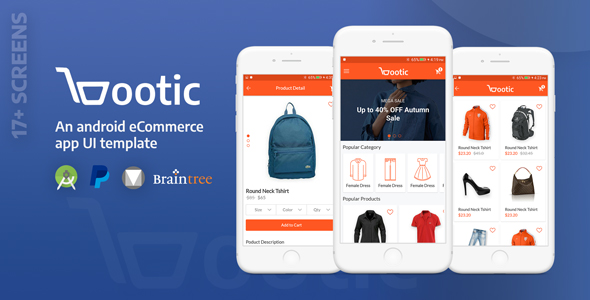 Bootic - an ultimate e-commerce UI template