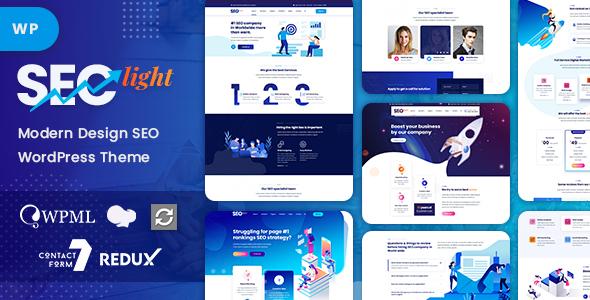 SEOlight - SEO & Digital Marketing WordPress Theme