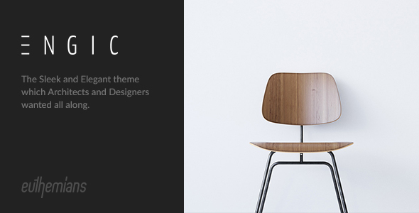 Engic - A Sleek Multiuse Responsive WordPress Theme