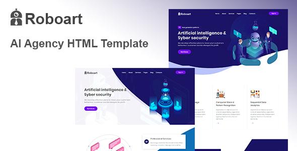 Roboart - Startup HTML Template