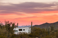 RV camping on Sonoran desert campground - PhotoDune Item for Sale