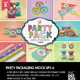 The Party Pack Packaging Mock Ups 6 - GraphicRiver Item for Sale