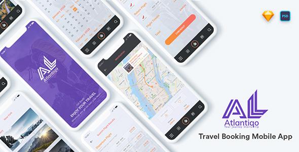Atlantigo -Travel & Flight Booking Mobile App
