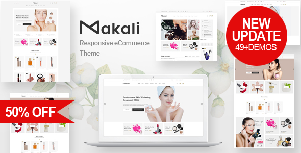 Makali - Multipurpose Theme for WooCommerce WordPress