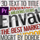 Multipurpose Clean 3D Text to Title (Mogrt) - VideoHive Item for Sale