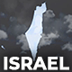 Israel & Palestinian Territories Map - State of Israel Map Kit - VideoHive Item for Sale