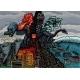 Natural Disasters Evil Monster That Destroys - GraphicRiver Item for Sale