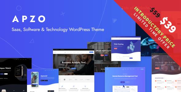 Apzo - Software & Saas WordPress