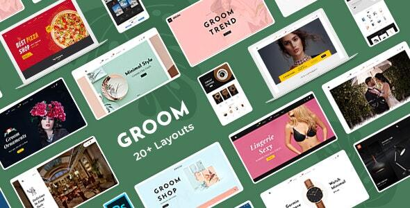 Groom - Shopify Multi-Purpose Responsive Theme