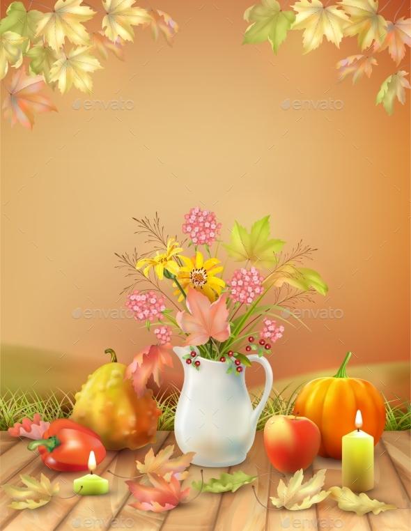 Autumn Season Poster