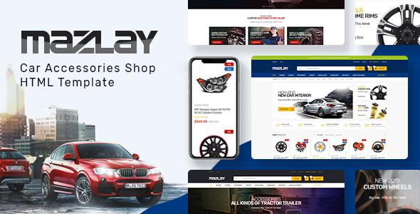 Mazlay - Car Accessories Shop HTML Template