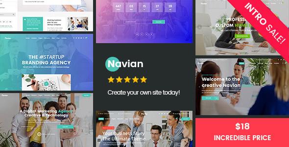 Navian - Responsive Multi-Purpose WordPress Theme