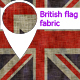 Fabric british flag - 3DOcean Item for Sale